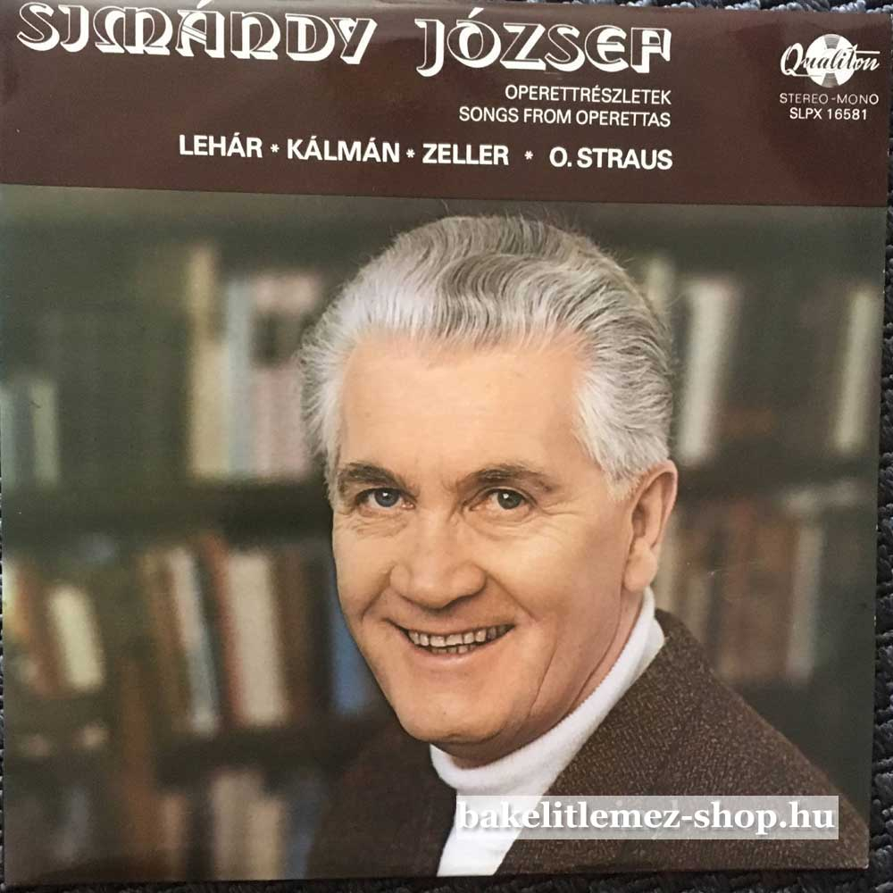 Simándy József - Operettrészletek