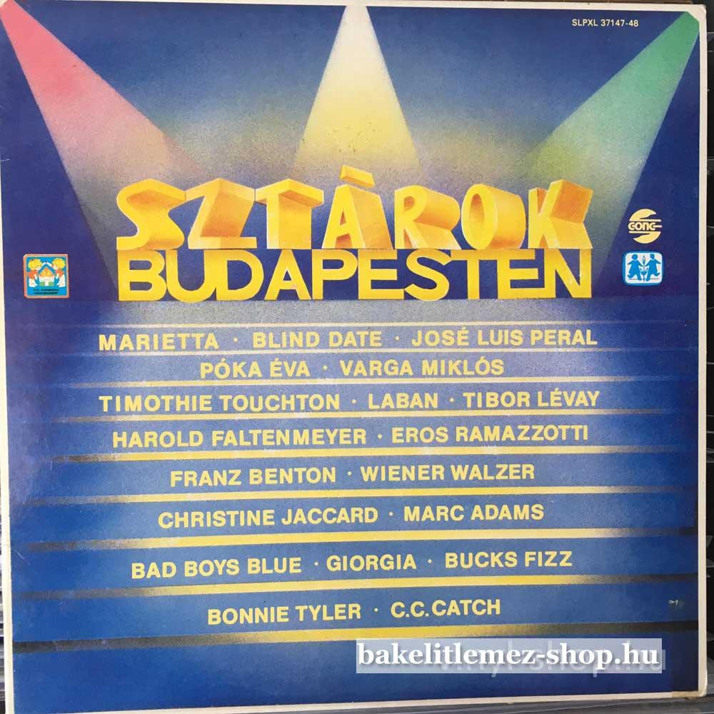Various - Sztárok Budapesten