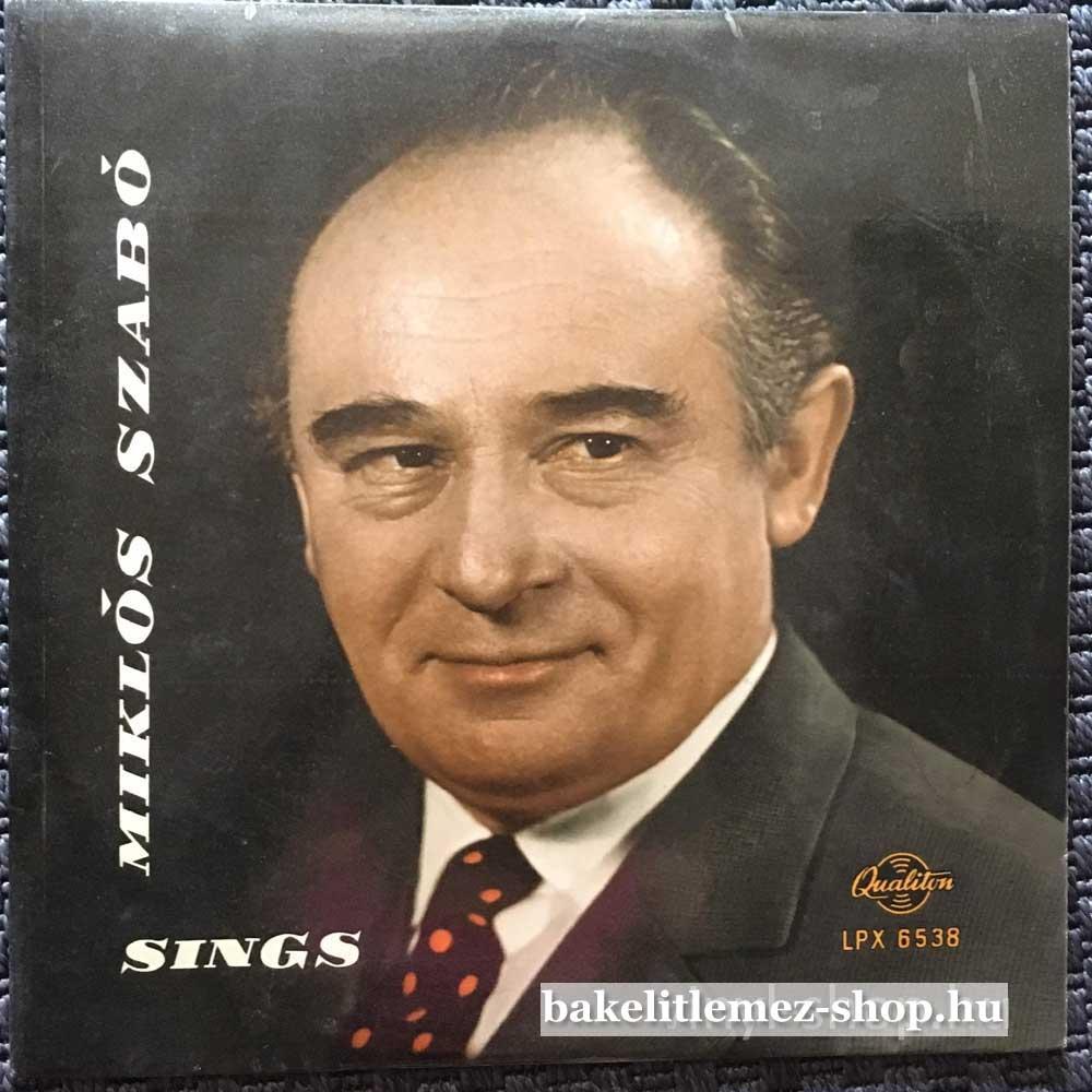 Miklós Szabó - Sings