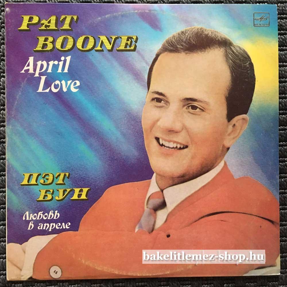Pat Boone - April Love