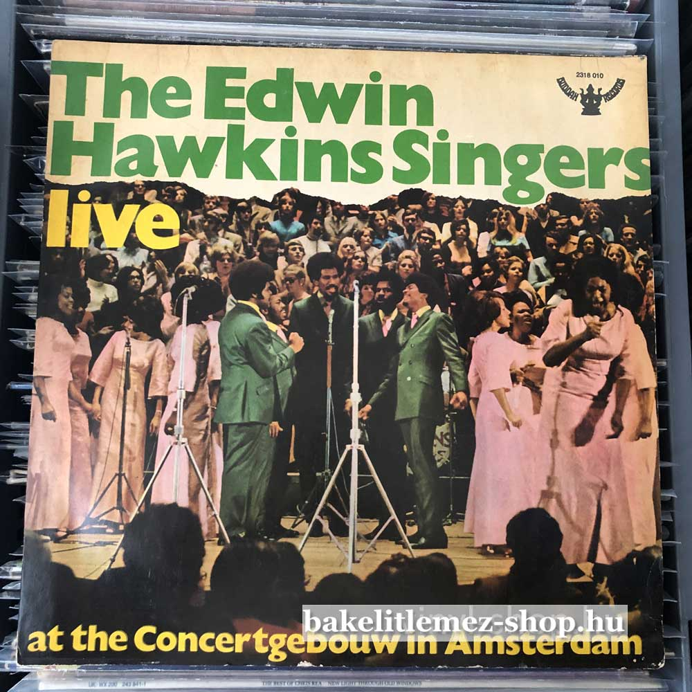 The Edwin Hawkins Singers - Live At Amsterdam