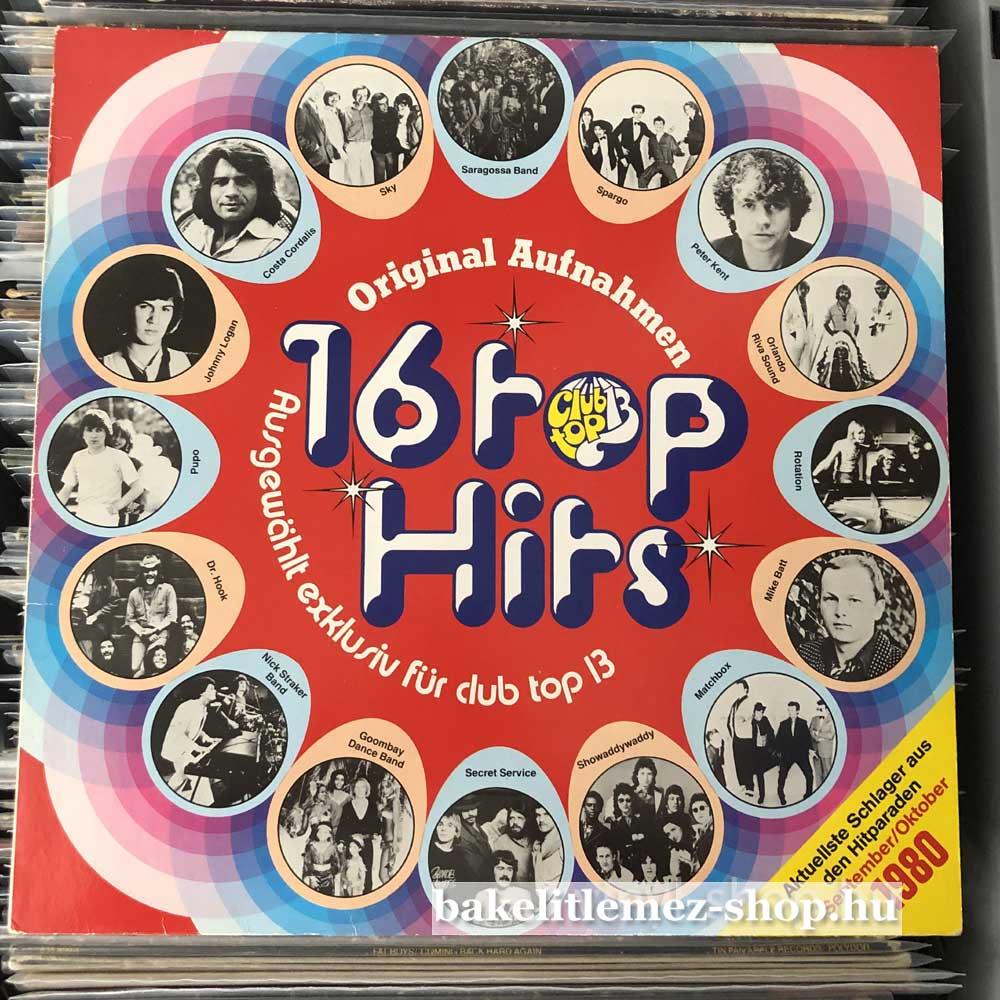 Various - 16 Top Hits - September Oktober 1980