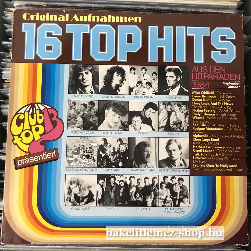 Various - 16 Top Hits - SeptemberOktober 1984
