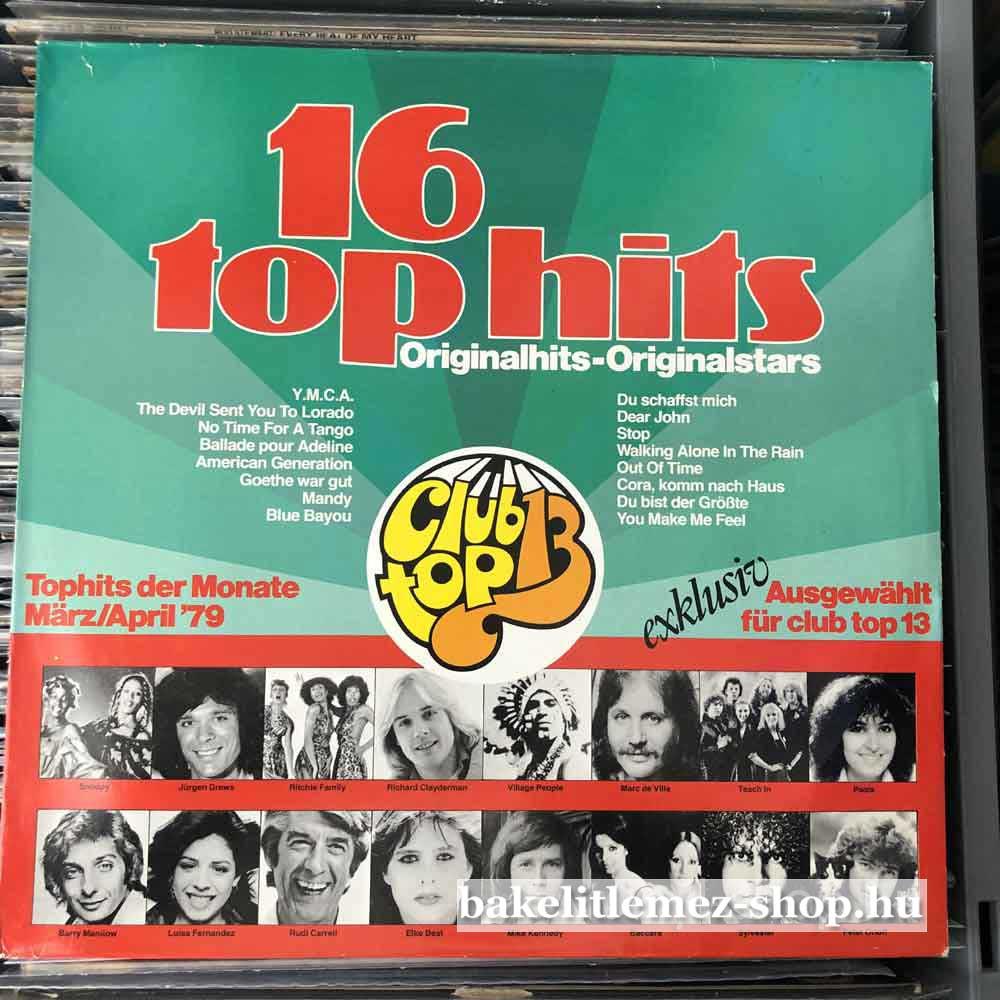Various - Tophits Der Monate MarzApril 79