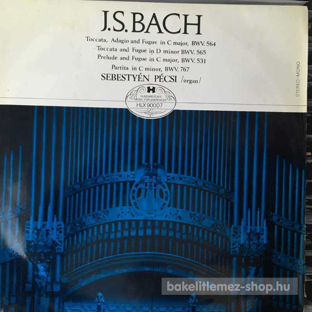 J. S. Bach - Toccata, Adagio and Fugue in C major