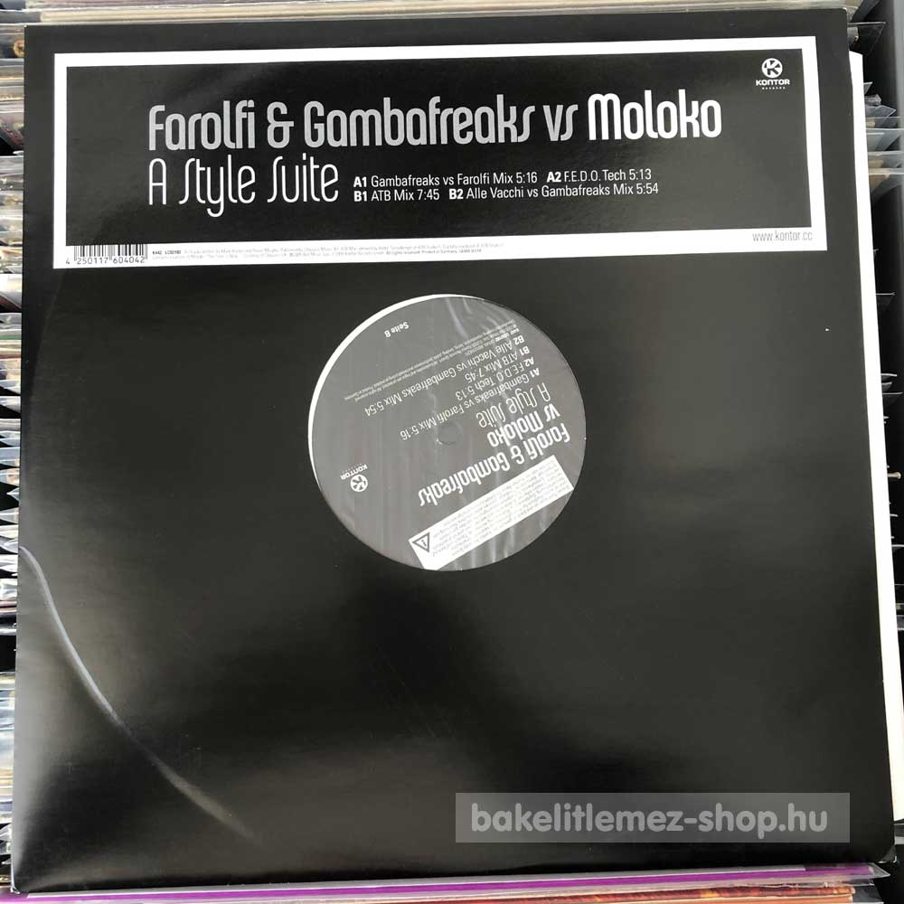 Farolfi & Gambafreaks vs Moloko - A Style Suite