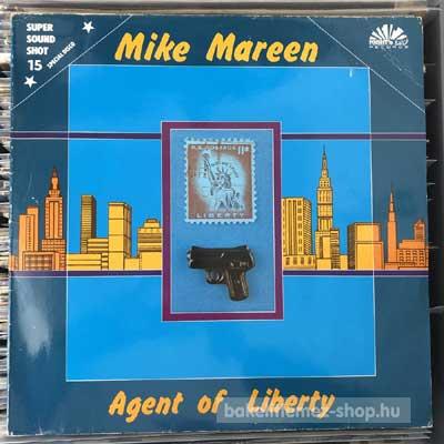 """Mike Mareen - Agent Of Liberty  (12"""", Maxi) (vinyl) bakelit lemez"""