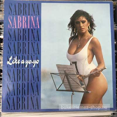 """Sabrina - Like A Yo-Yo  (12"""", Maxi) (vinyl) bakelit lemez"""