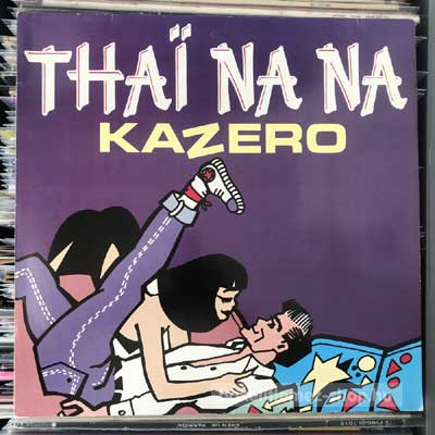 "Kazero - Thai Nana  (12"", Maxi) (vinyl) bakelit lemez"