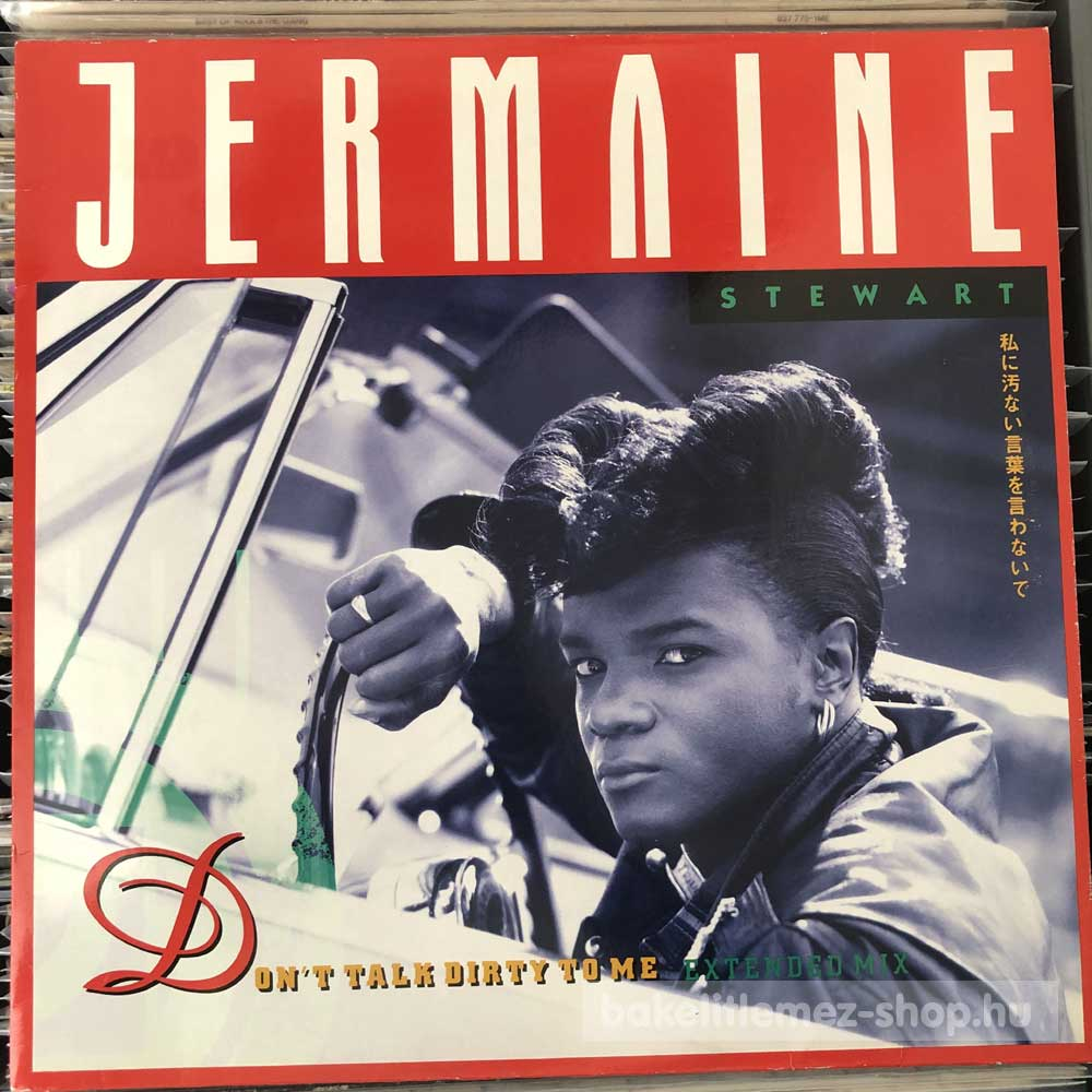 Jermaine Stewart - Dont Talk Dirty To Me (Extended Mix)