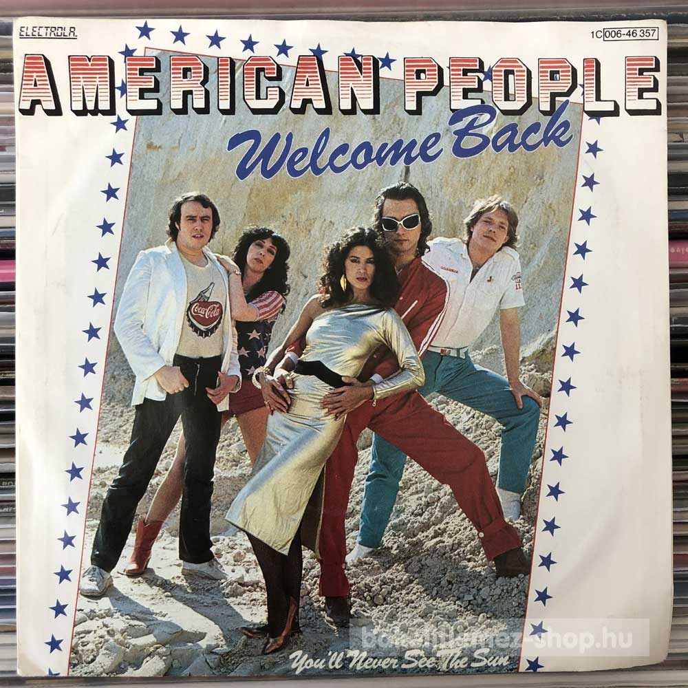 American People - Welcome Back