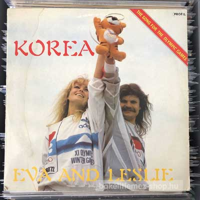 "Eva And Leslie - Korea  (12"", Maxi) (vinyl) bakelit lemez"