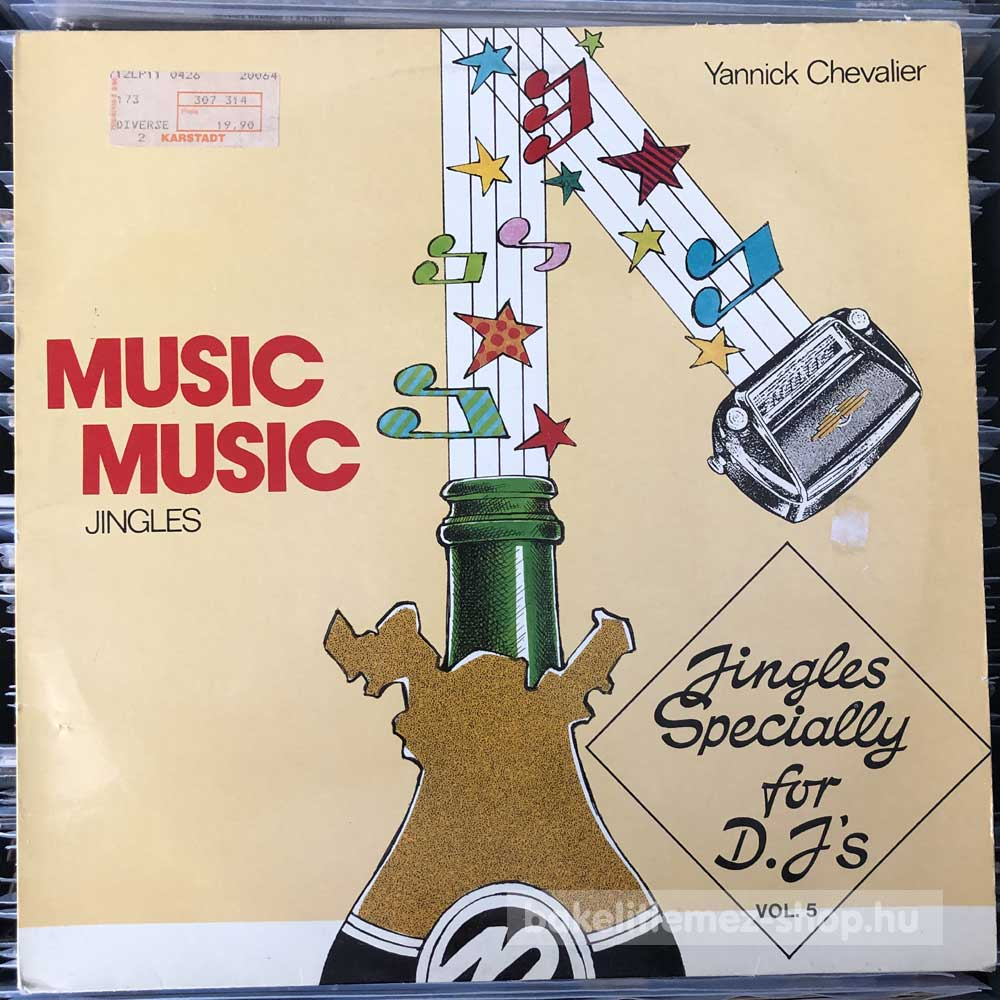 Yannick Chevalier - Jingles Specially For D.J Vol. 5