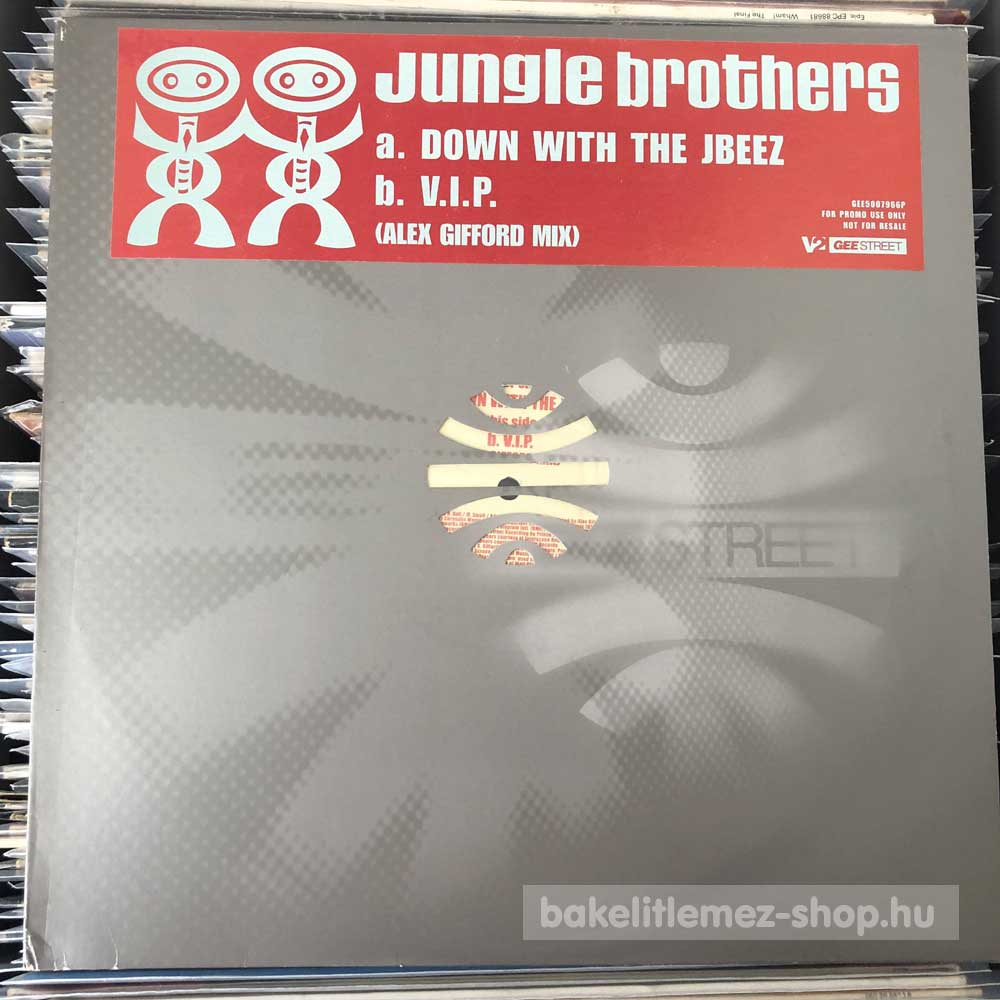 Jungle Brothers - Down With The Jbeez - V.I.P.