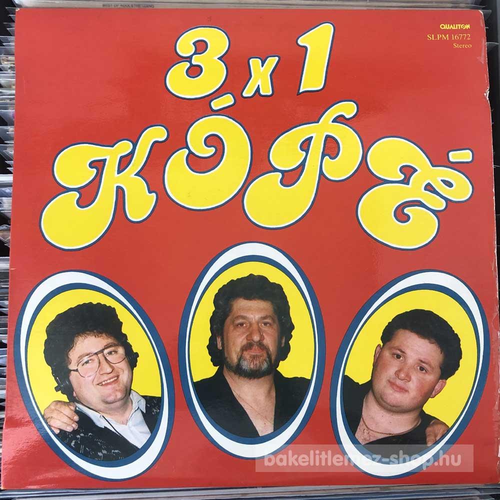 3x1 Kópé - 3x1 Kópé