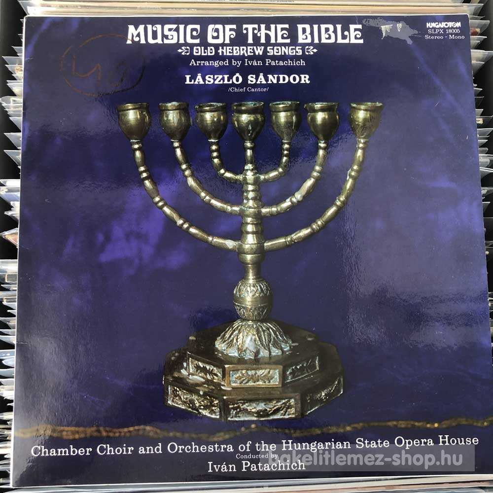 László Sándor - Music Of The Bible - Old Hebrew Songs