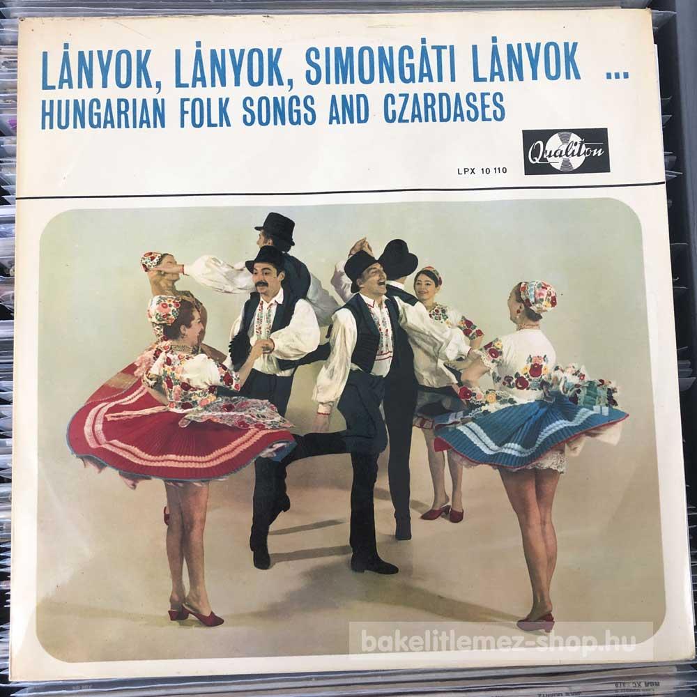 Various - Lányok, Lányok, Simongáti Lányok