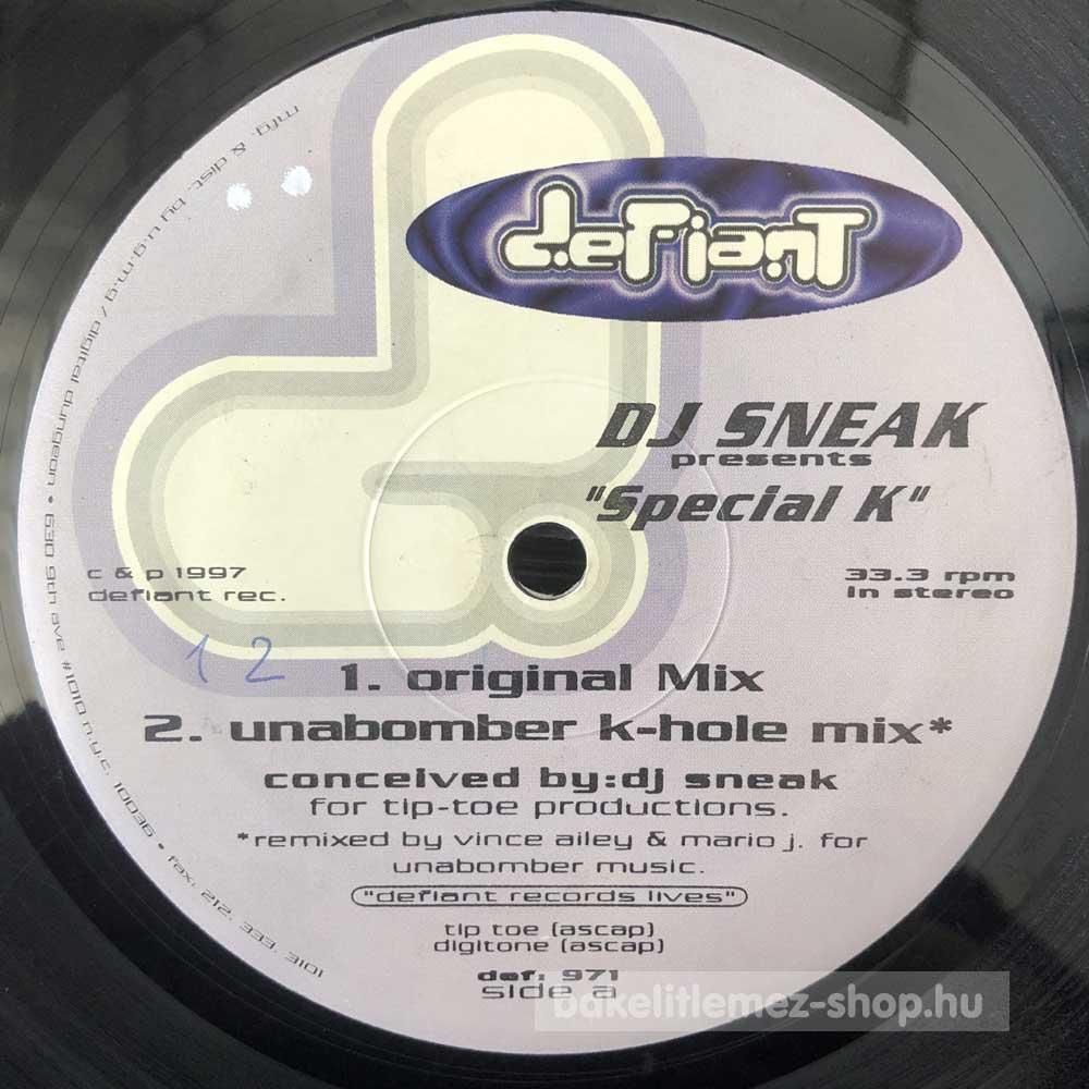 DJ Sneak - Special K