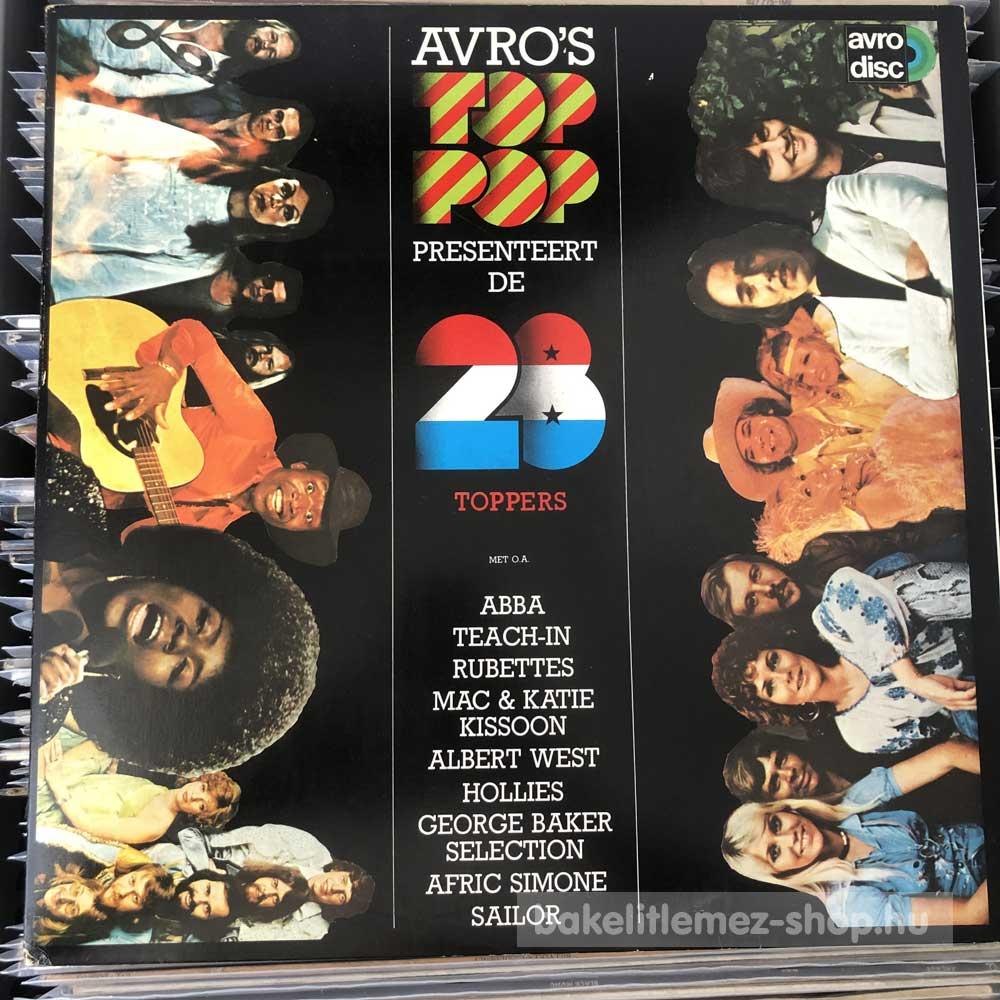 Various - Avro s Toppop Presenteert De 28 Toppers