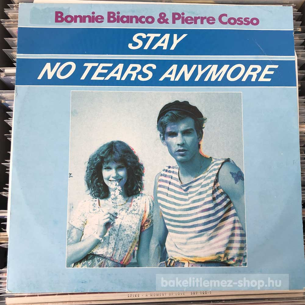Bonnie Bianco & Pierre Cosso - Stay - No Tears Anymore