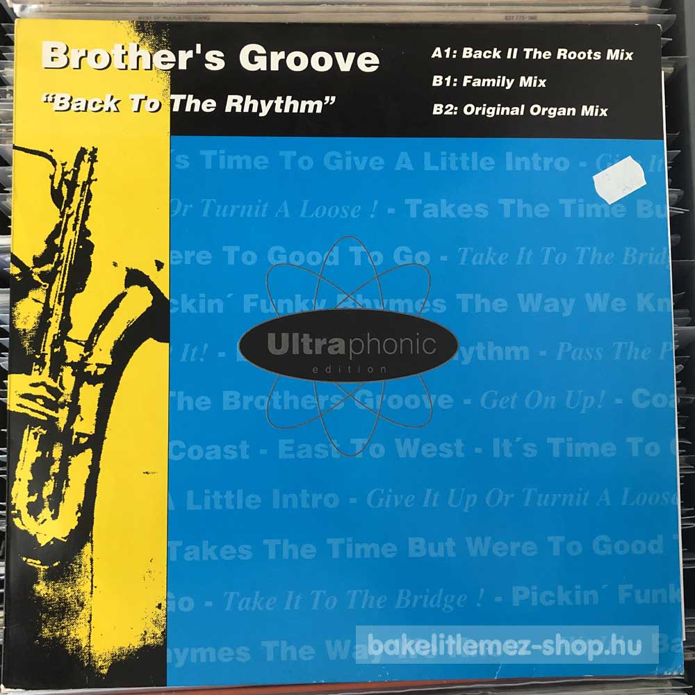 Brother s Groove - Back To The Rythm