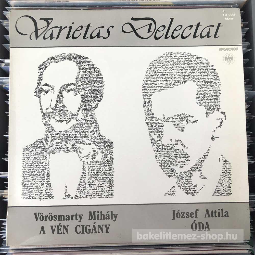 Vörösmarty Mihály, József Attila - A Vén Cigány - Óda