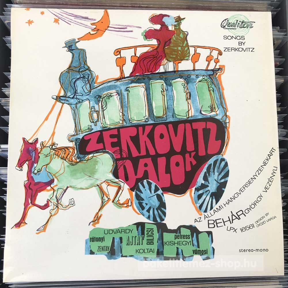 Zerkovitz Béla - Zerkovitz dalok