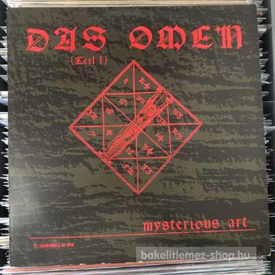 """Mysterious Art - Das Omen (Teil 1)  (12"""", Maxi) (vinyl) bakelit lemez"""