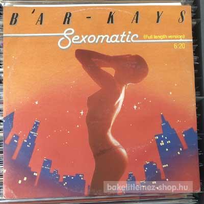 """Bar-Kays - Sexomatic (Full Length Version)  (12"""", EP) (vinyl) bakelit lemez"""