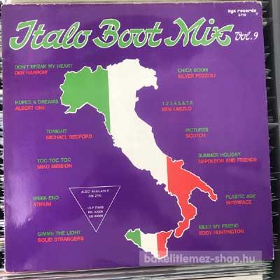 """Various - Italo Boot Mix Vol. 9  (12"""", Maxi) (vinyl) bakelit lemez"""