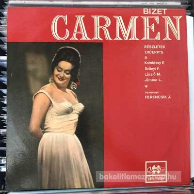 Bizet - Carmen (részletek)  (LP, Album, Mono) (vinyl) bakelit lemez