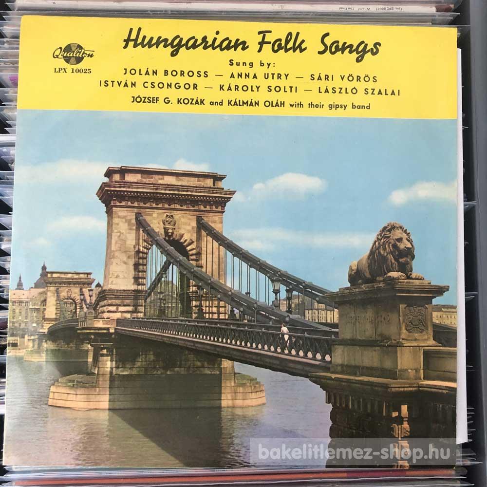 Various - Hungarian Folk Songs