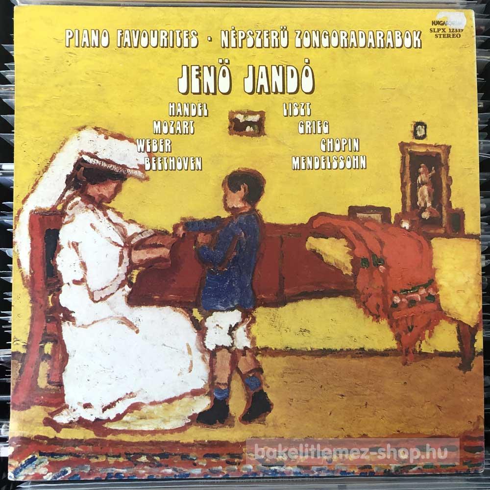 Jenö Jandó - Népszerű Zongoradarabok