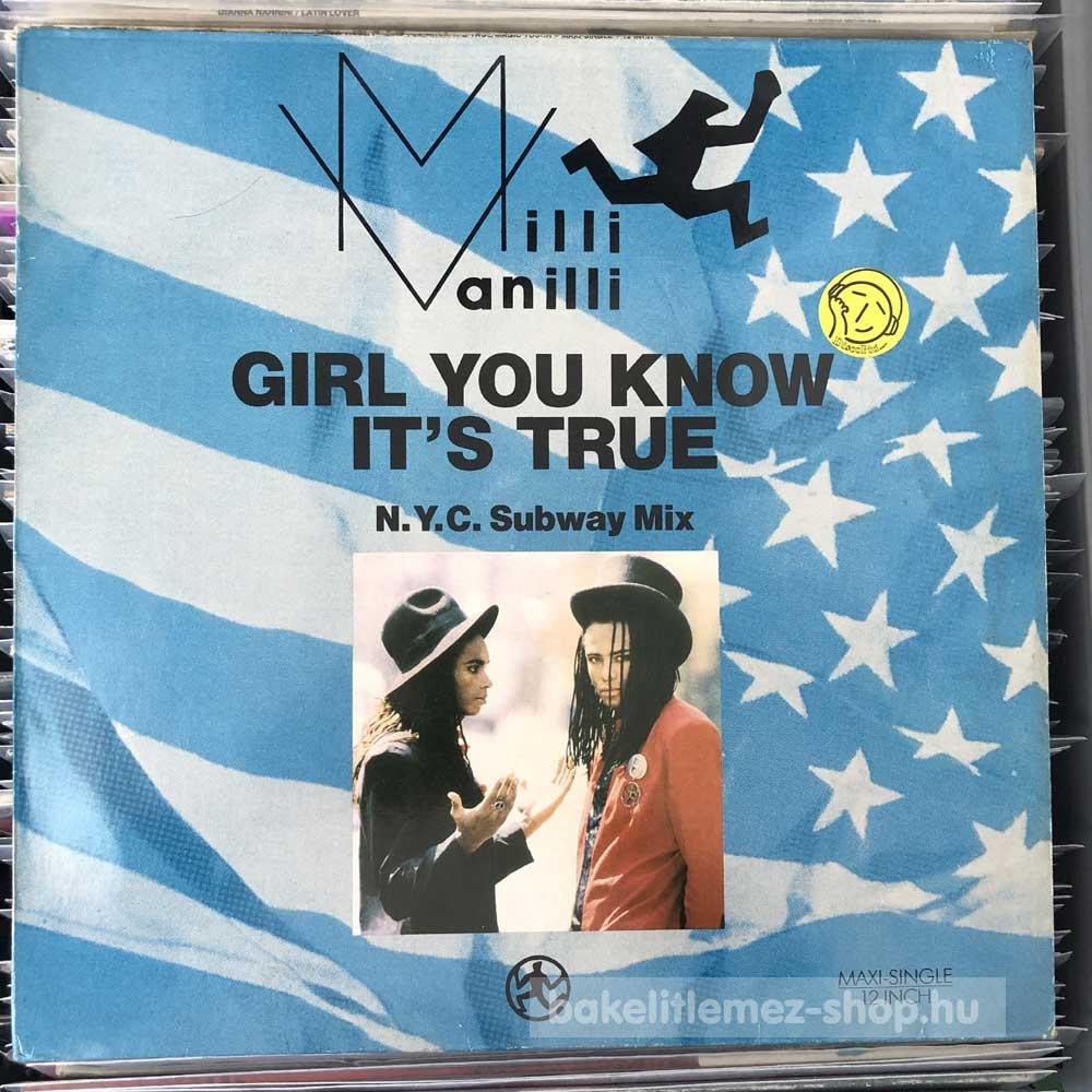 Milli Vanilli - Girl You Know It s True (N.Y.C. Subway Mix)