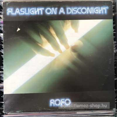 """Rofo - Flashlight On A Disconight  (12"""") (vinyl) bakelit lemez"""
