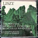 Liszt - Les Preludes, Rhapsodie Espagnole, Hungarian Rhapsodies