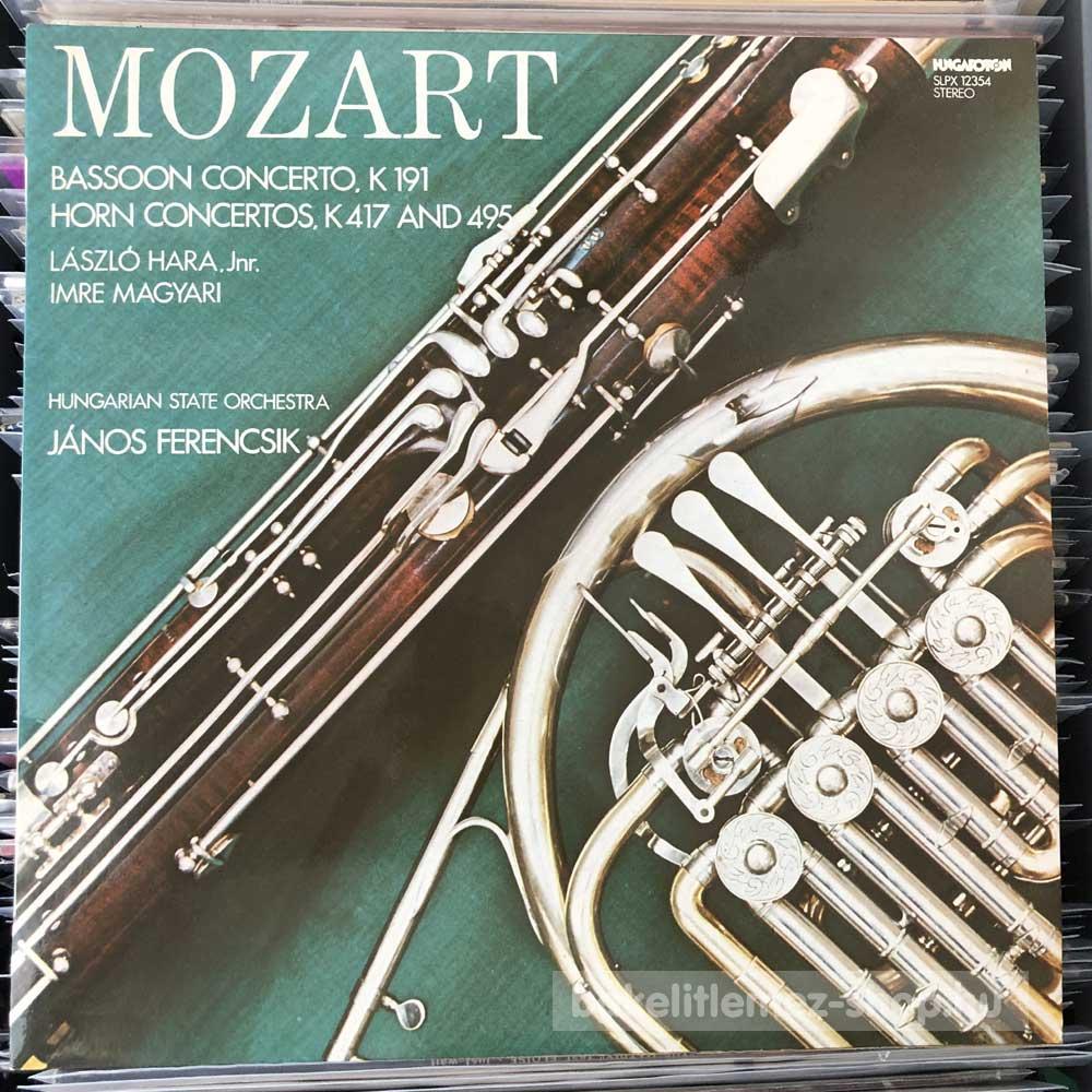 Mozart - Bassoon Concerto. K 191 - Horn Concertos. K 417