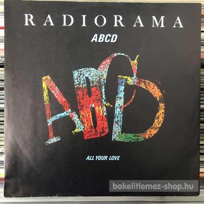 """Radiorama - ABCD  (7"""", Single) (vinyl) bakelit lemez"""
