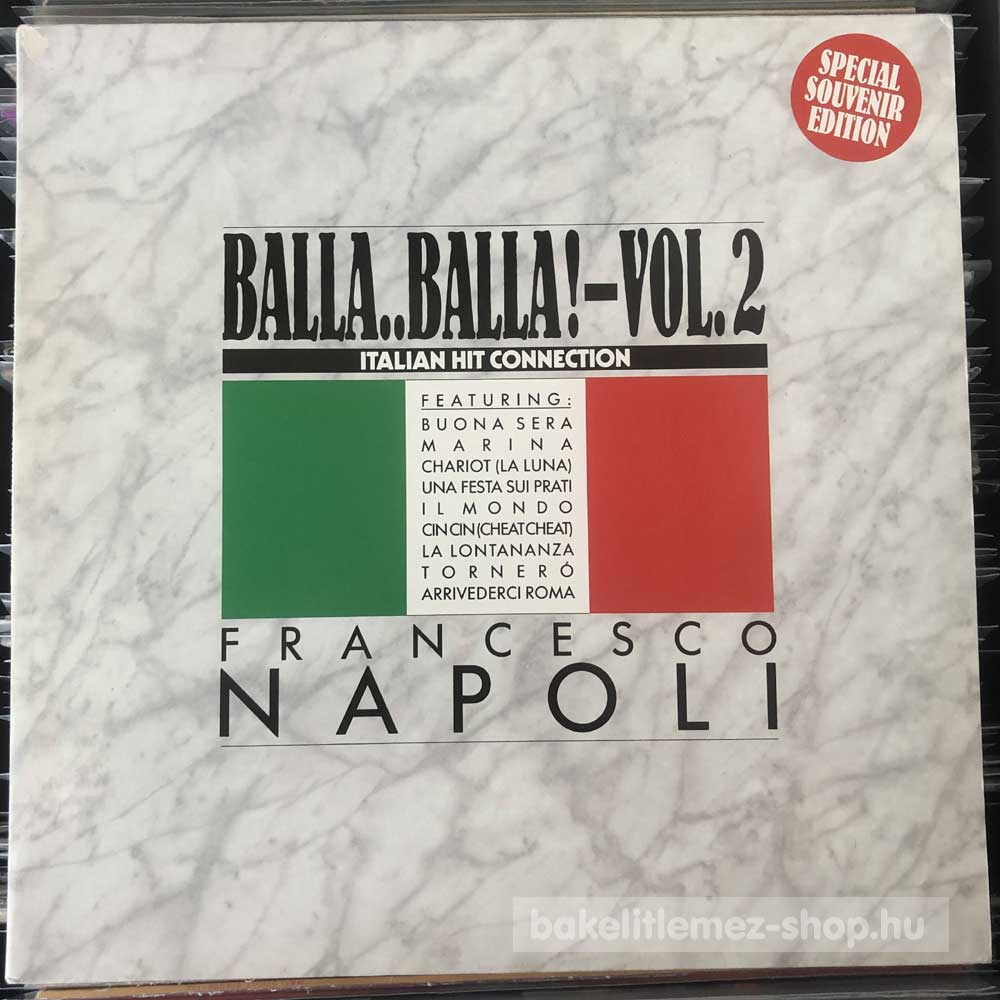 Francesco Napoli - Balla..Balla! Vol. 2
