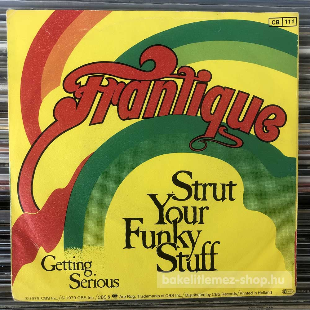Frantique - Strut Your Funky Stuff