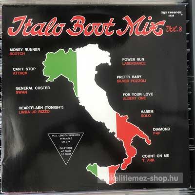 """Various - Italo Boot Mix Vol. 8  (12"""", Mixed) (vinyl) bakelit lemez"""