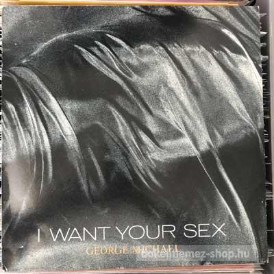 """George Michael - I Want Your Sex  (12"""") (vinyl) bakelit lemez"""