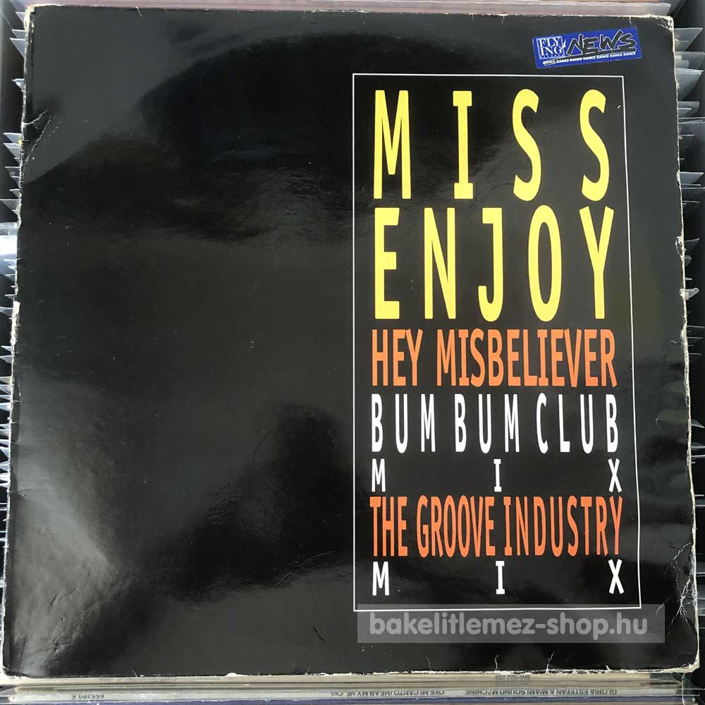 Miss Enjoy - Hey Misbeliever