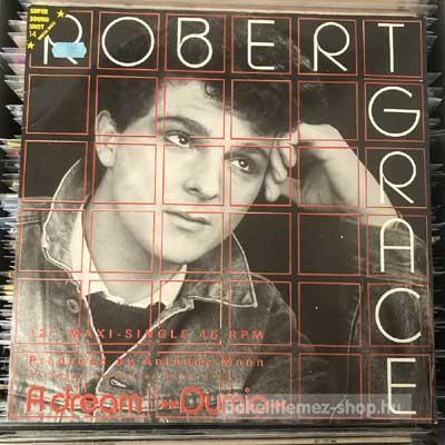 """Robert Grace - A Dream (Dumio)  (12"""", Maxi) (vinyl) bakelit lemez"""