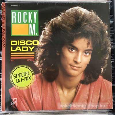 """Rocky M. - Disco Lady  (12"""", Maxi) (vinyl) bakelit lemez"""