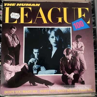 """The Human League - Don t You Want Me  (12"""", Single) (vinyl) bakelit lemez"""