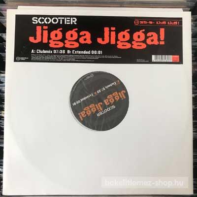 "Scooter - Jigga Jigga  (12"") (vinyl) bakelit lemez"
