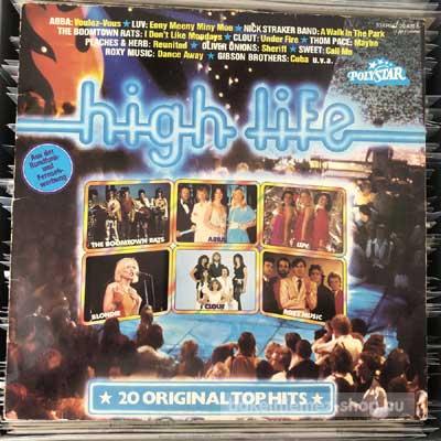 Various - High Life  (LP, Comp, Club) (vinyl) bakelit lemez