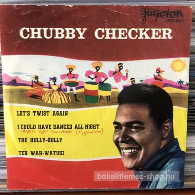 "Chubby Checker - Let s Twist Again  (7"", EP) (vinyl) bakelit lemez"