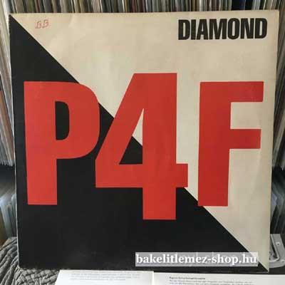 """P4F - Diamond  (12"""", Maxi) (vinyl) bakelit lemez"""